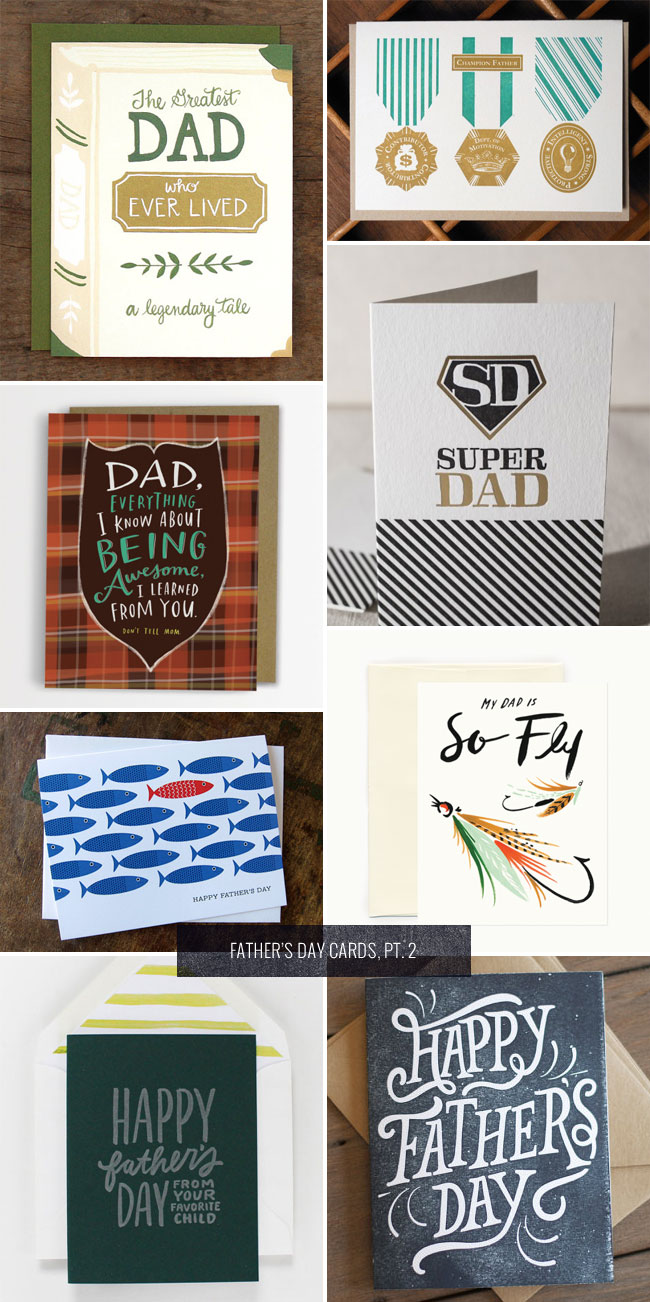 Father's Day Cards, Pt. 2 as seen on papercrave.com