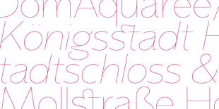 Memoire Font by Reserves