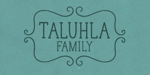 Taluhla Font by Cultivated Mind