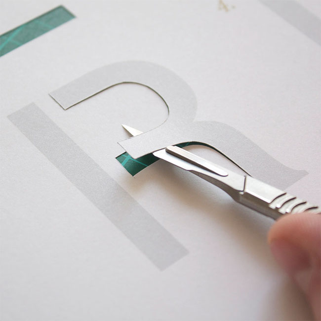 Papercut Letters Template | Mr Yen Designs