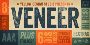 Veneer Font by Yellow Design Studio