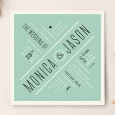 Divergence Wedding Invitations by Jennifer Wick