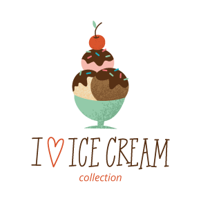 I Heart Ice Cream Digital Collection | k.becca