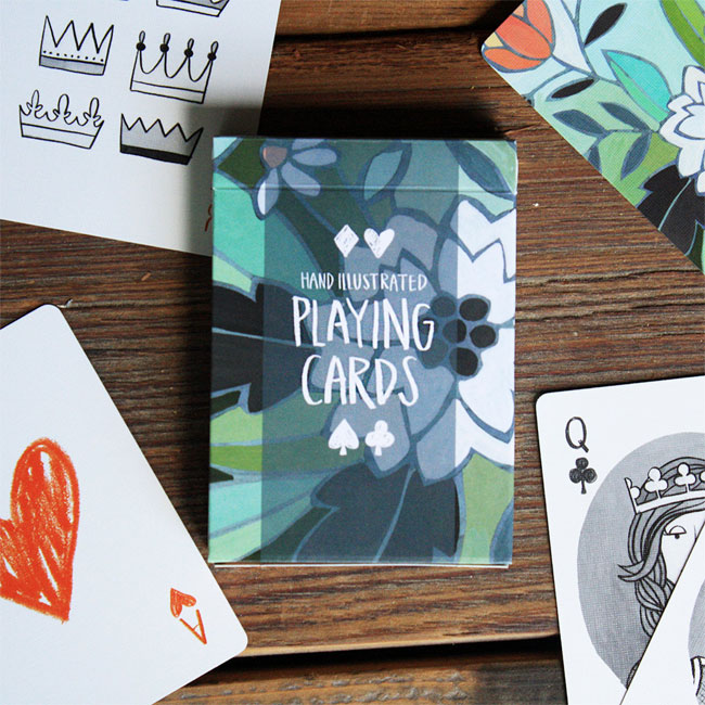 Illustrated Playing Cards | 1Canoe2