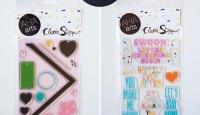 Hand Drawn Stamp Sets | Ashley Goldberg #stamping #cardmaking