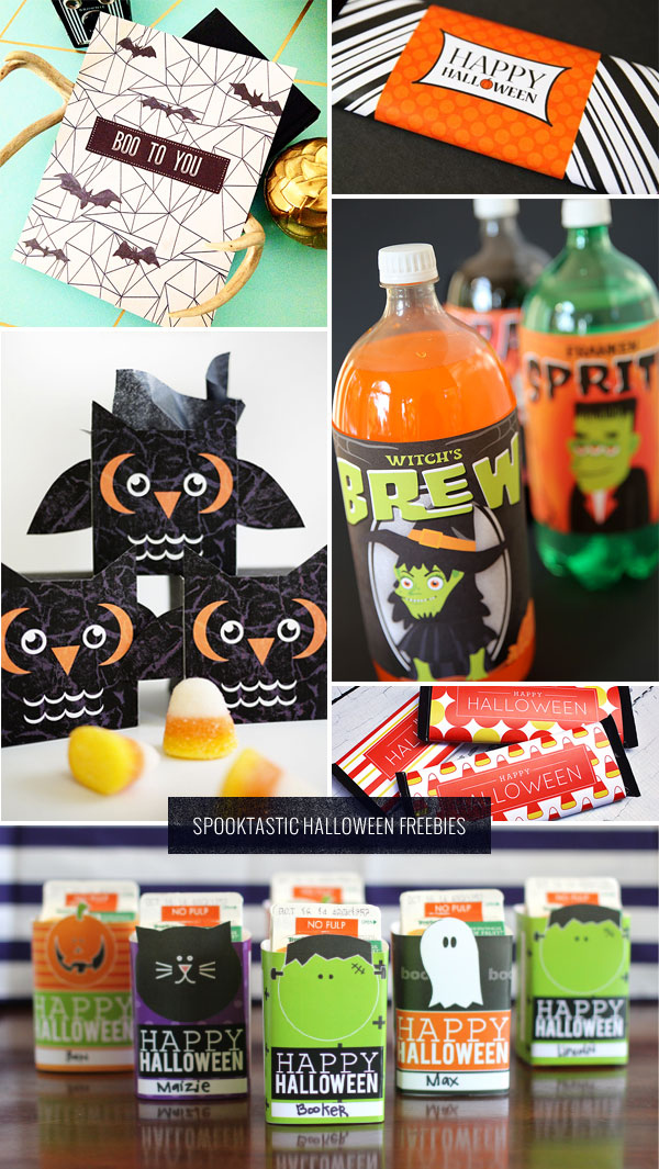 6 Spooktastic Halloween Freebies