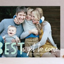 Bright Future Holiday Photo Cards