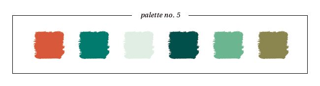 Winter & Holiday 2014 -2015 Inspired Color : Palette No. 5