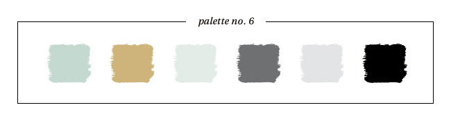 Winter & Holiday 2014 -2015 Inspired Color : Palette No. 6