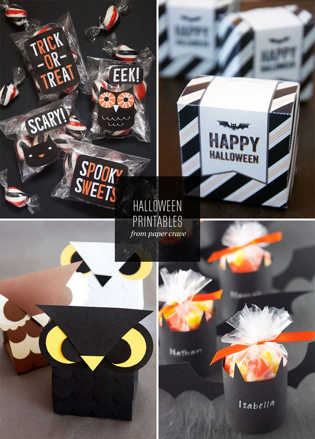 Free Halloween Printables by Paper Crave