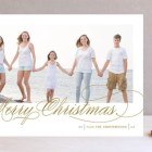 Fresh Christmas Wishes Holiday Photo Cards