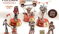 Free Printable Circus Freak Show Paper Craft | Crush