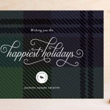 Black Watch Greetings Business Holiday Cards