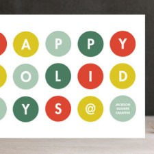 Dot Coms Business Holiday Cards