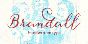 Brandall Font by Artimasa