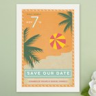 The Beach Save the Date Cards