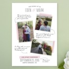 Story of Us Collage Save the Date Cards
