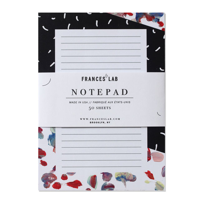 Gemini Modern Abstract Notepad | Frances Lab