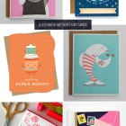 Sweet Illustrated Mother's Day Cards