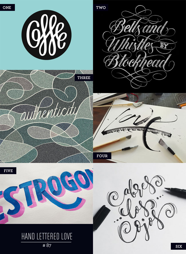 Hand Lettered Love #87