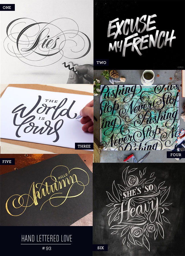 Hand Lettered Love #93