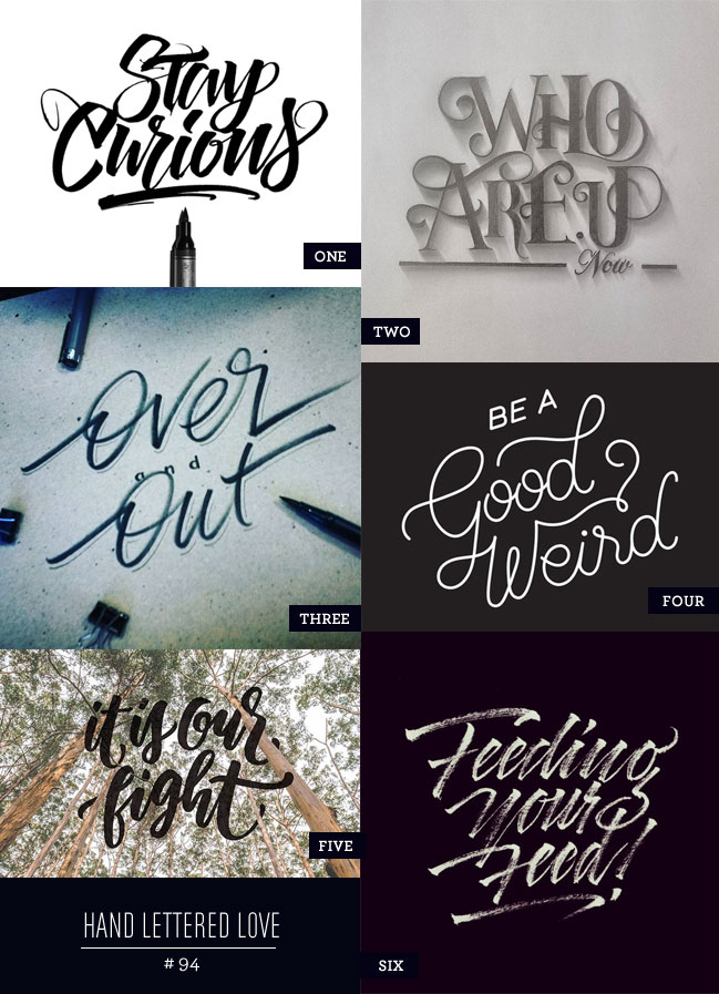 Hand Lettered Love #94