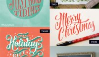 Holiday Hand Lettered Love