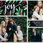 Botanical Joy Holiday Photo Cards by Hello Little One