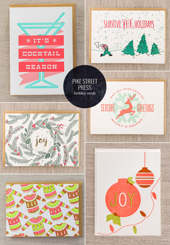 A Letterpress Christmas 2015 : Pike Street Press