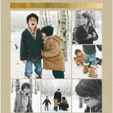 Made to Shine Large Format Holiday Photo Cards by Stacey Day