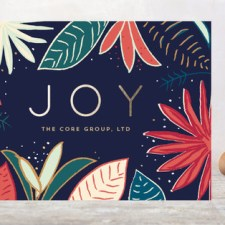 Tropical Business Holiday Cards by Lindsay Megahed