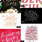 Hand Lettered Love, Holiday Edition