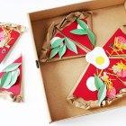 DIY Paper Pizzeria Craft from Handmade Charlotte #kidcraft