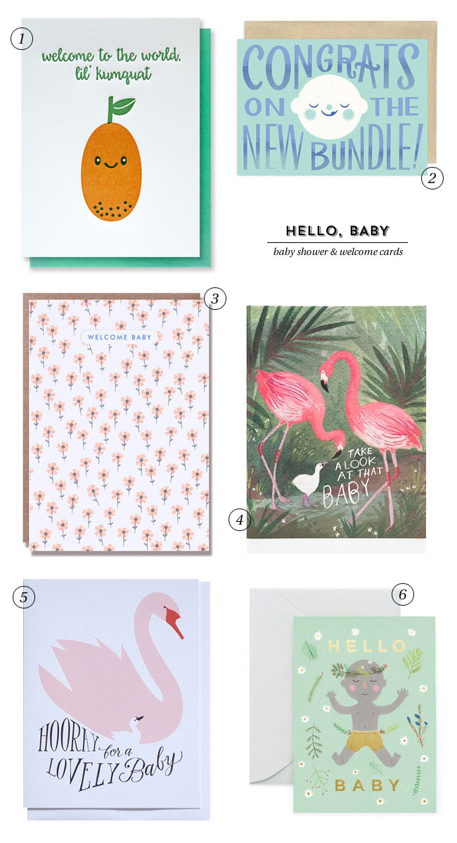 Baby Shower Cards & Welcome Baby Cards