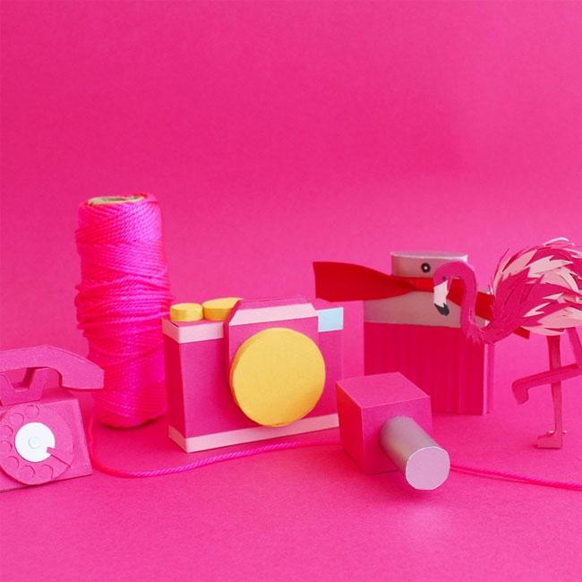 3D Paper Sculpture by Lorraine Nam