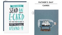 Modern Father's Day Cards #stationery #greetingcards