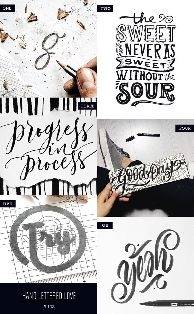 Hand Lettered Love #122