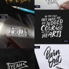 Hand Lettered Love #125