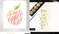 Hand Lettered Love #130