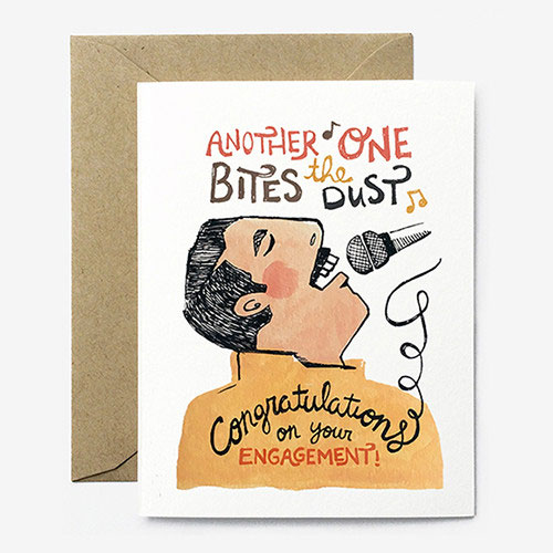Bites the Dust Greeting Card from Paper Pony Co.