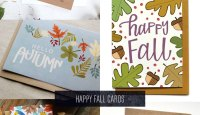 Happy Fall Cards Roundup