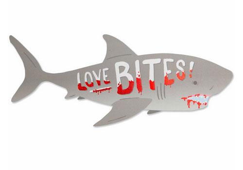 Die Cut Shark Card from The Social Type