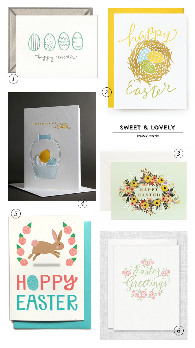 Sweet & Lovely Happy Easter Cards