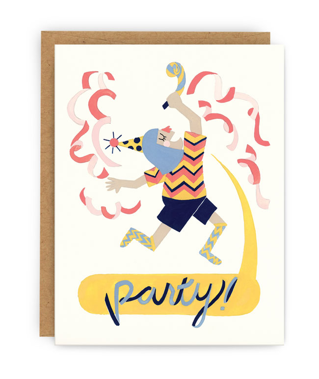 Party! Card by Pilgrim Paper Co.