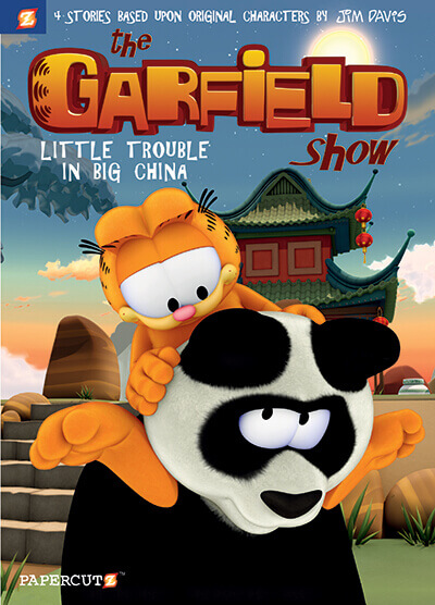 "Comics From the Future – THE GARFIELD SHOW #4: ""Little Trouble in Big China"""