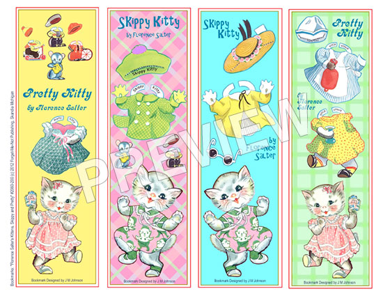 Bookmarks Kitty Collector - Sixdesignenvy \u2022