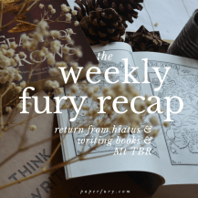 weekly fury april