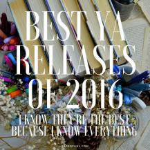 best ya 2016