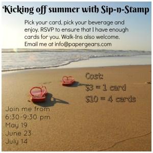 Sip-N-Stamp