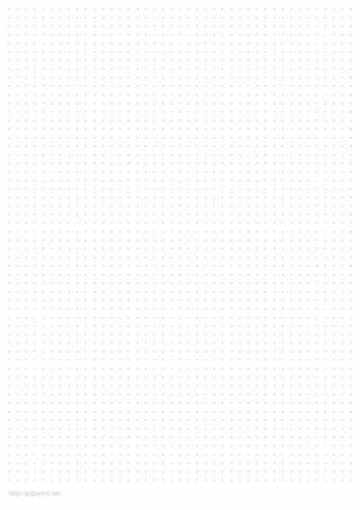 Dot paper template - Paperkit